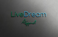 LiveDream Apparel Logo - Entry #315