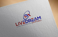 LiveDream Apparel Logo - Entry #151