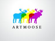 ArtMoose Logo - Entry #65