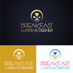 Breakfast Lunch & Deener Logo - Entry #48