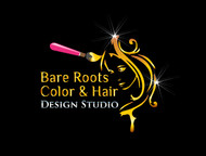 Bare Roots Color & Hair Design Studio Logo - Entry #31