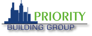 Priority Building Group Logo - Entry #177