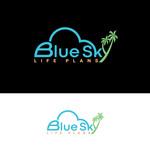 Blue Sky Life Plans Logo - Entry #303