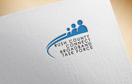 Rush County Connect Broadband Task Force Logo - Entry #53