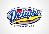 DELIGHT Pizza & Wings  Logo - Entry #70