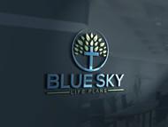 Blue Sky Life Plans Logo - Entry #434