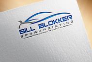 Bill Blokker Spraypainting Logo - Entry #92