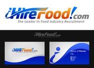 iHireFood.com Logo - Entry #121