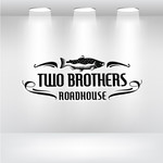 Two Brothers Roadhouse Logo - Entry #12
