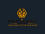 The Hive Mind Apiary Logo - Entry #59
