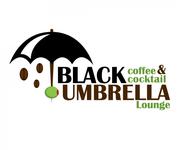 Black umbrella coffee & cocktail lounge Logo - Entry #166