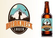 Breakneck Lager Logo - Entry #8