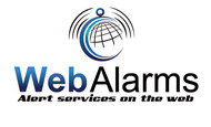 Logo for WebAlarms - Alert services on the web - Entry #1