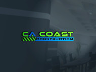 CA Coast Construction Logo - Entry #181