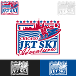 Chicago Jet Ski Adventures Logo - Entry #60