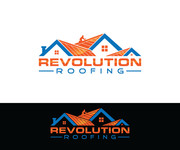 Revolution Roofing Logo - Entry #247