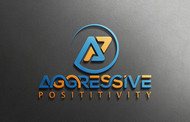 Aggressive Positivity  Logo - Entry #51
