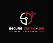 Secure. Digital. Life Logo - Entry #106