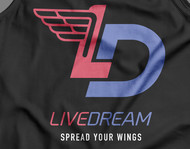 LiveDream Apparel Logo - Entry #480