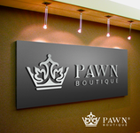 Either Midtown Pawn Boutique or just Pawn Boutique Logo - Entry #24