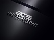 Elite Construction Services or ECS Logo - Entry #28