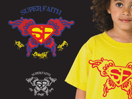 Superman Like Shield Logo - Entry #52