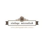 Vintage Microstock Logo - Entry #54