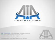 AIA CONTRACTORS Logo - Entry #17