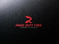 Rams Duty Free + Smoke & Booze Logo - Entry #104