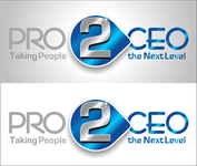 PRO2CEO Personal/Professional Development Company  Logo - Entry #59