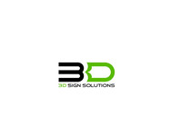 3D Sign Solutions Logo - Entry #198