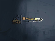 Shepherd Drywall Logo - Entry #133