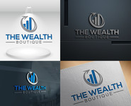the wealth boutique Logo - Entry #73
