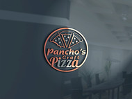 Pancho's Craft Pizza Logo - Entry #80