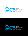 Elite Construction Services or ECS Logo - Entry #254