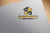Shepherd Drywall Logo - Entry #103