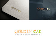 Golden Oak Wealth Management Logo - Entry #145