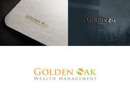 Golden Oak Wealth Management Logo - Entry #145