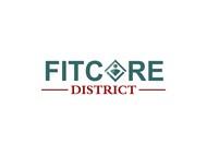 FitCore District Logo - Entry #125