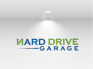 Hard drive garage Logo - Entry #208
