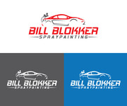 Bill Blokker Spraypainting Logo - Entry #80
