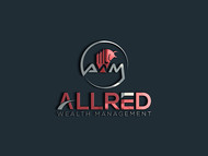 ALLRED WEALTH MANAGEMENT Logo - Entry #611
