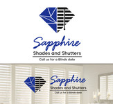 Sapphire Shades and Shutters Logo - Entry #169