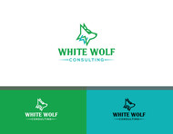 White Wolf Consulting (optional LLC) Logo - Entry #214