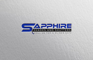 Sapphire Shades and Shutters Logo - Entry #28