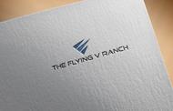 The Flying V Ranch Logo - Entry #81