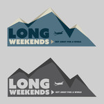 Long Weekends Logo - Entry #37