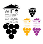 Wine Country Cottages on Main Logo - Entry #37