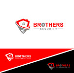 Brothers Security Logo - Entry #180
