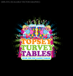Topsey turvey tables Logo - Entry #27